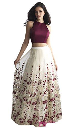StyleVilla Women's Silk Lehenga Cholis (HL_1112_Multi-Coloured_Free Size)