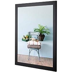 Cadre photo MONZA 50 x 70 (PUZZLE) Noir (mat)