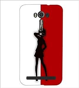 Printdhaba Girl Design D-2644 Back Case Cover For Asus Zenfone 2 Laser Ze550Kl