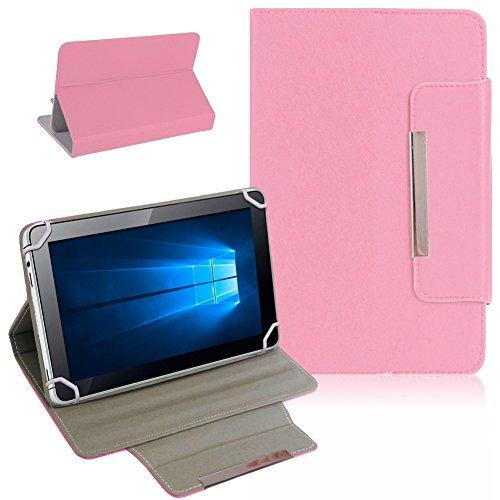 Nauci Kiano Intelect 8 MS Tablet Schutz Tasche Hülle Schutzhülle Case Cover Bag, Farben:Rosa