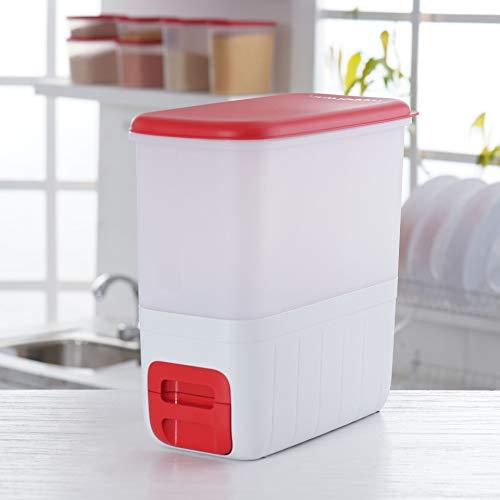 Tupperware Large Bulk Storage Rectangular Container Rice Smart 10kg 1pc