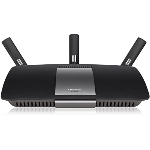 Linksys EA6900-EJ - Router inalámbrico Smart Wi-Fi de doble banda AC1900 (Wireless-AC, doble banda 2,4 + 5 GHz, Smart Wi-Fi, Beamforming, USB 3.0 + USB 2.0), negro