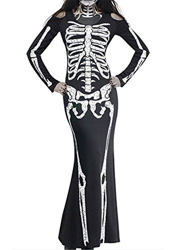 Schrei Horror Film Womens Halloween Fancy Dress Erwachsene Kostüm Outfit