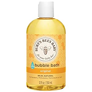Burt's Bees Baby 99.8% Natural Bubble Bath, 350ml