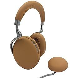 Parrot Zik 3 by Starck Casque audio Bluetooth, chargeur à induction inclus Camel Grené