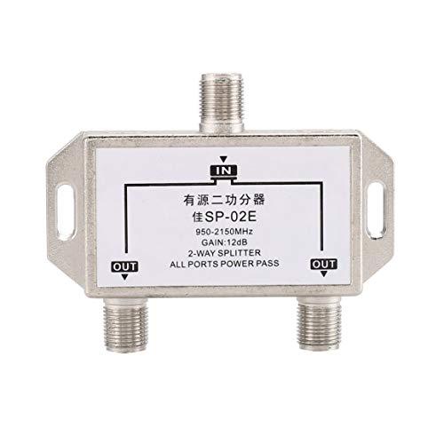2 Wege Kabel Teiler Satelliten Multischalter ANT SAT TV Signal Mixer Digital Satellite Combiner Diplexer VHF UHF Sat-tv-combiner