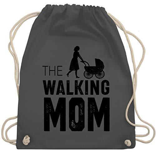(Muttertag - The walking Mom - Unisize - Dunkelgrau - WM110 - Turnbeutel & Gym Bag)