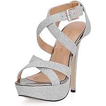 CHMILE CHAU-Scarpe da Donna-Sandali Tacco Alto a Spillo-Sexy-Moda 52947b8dbd4