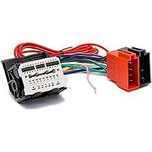 Aerzetix ISO Konverter Adapter Kabel Radioadapter Radio Stecker ISO Kabel Verbindungskabel f/ür amerikanische Autos C40113