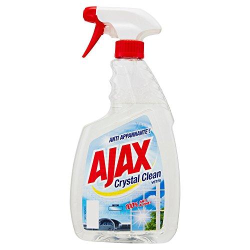 Ajax Detersivo Crystal Clean per Vetri - 750 ml