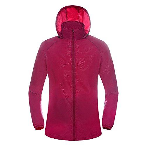 Uglyfrog Sport e Tempo Libero da Protezione Solare Ultralight Cappotto da Monostrato Softshell Giacca Ciclismo Uomo/Donna da Traspirante Impermeabile Top YD