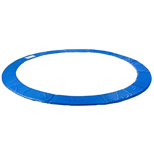 Arebos Trampolin Randabdeckung / 183, 244, 305, 366, 396, 457 oder 487 cm/blau (blau, 366 cm)