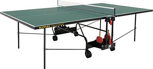 Preisvergleich Produktbild sunflex Tischtennisplatte FUN Outdoor,  grün