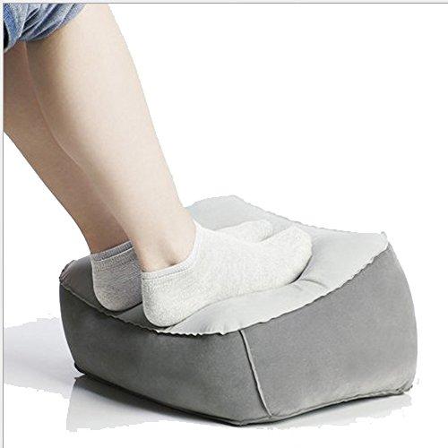 Preisvergleich Produktbild Kabalo Aufblasbare Travel Fußstütze Kissen - Gesundheit und Komfort