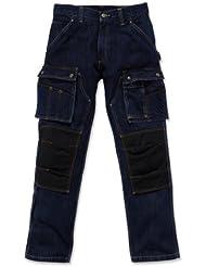 Carhartt Jeans Vêtements de travail genouillères artisans EB229