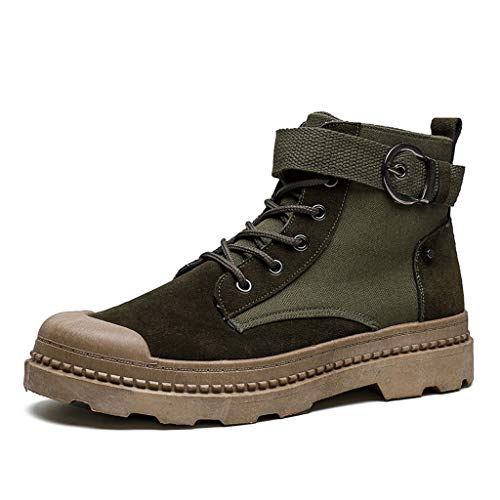 Honestyi_Scarpe Adulti Stivali Neve Stivali da Moto Scarpe da Lavoro Scarpe da Escursionismo Scarpe di Tutti i Giorni