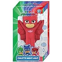 PJ Masks Owlette Night Light for Boys 5+ & Above