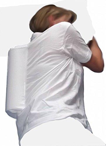 Anti-Schnarch-Shirt XL mit Schaumrolle im Snorepast Set, Shirt plus Ratgeber