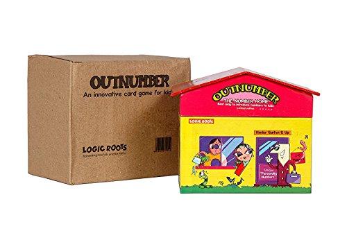 Logic Roots OUTNUMBER Die ersten Zahlen Ihres Kindes Mathe-Spiel zum Erlernen der Nummernerkennung und Sequenzierung (Englischsprachiges Produkt)