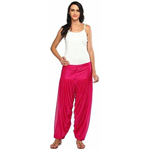 Fashion Guru Trading Women's Solid Net Fancy Patiala Salwar Pack of 1...