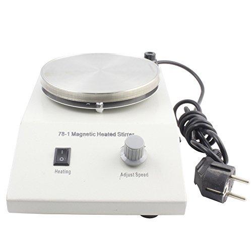 BIPEE 78-1 Laboratory Magnetic Heating Stirrer, Stainless Steel Pannel,1000ml Capacity, 100 Degree,300W Heating Power …