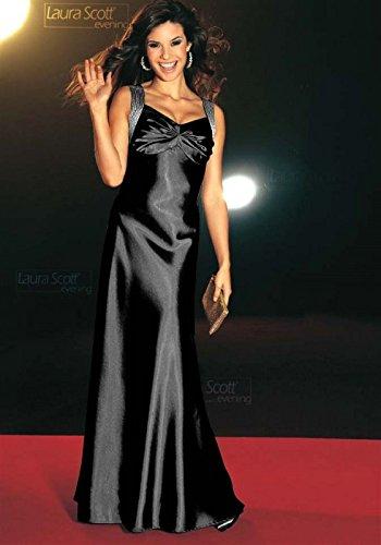 Laura Scott Evening Damen-Kleid Abendkleid Mehrfarbig Größe 17 (34)