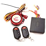 Pixtic -Moto Alarme audio/lumière/immo antivol étanche à l'eau pour MOTO+2 Télécommandes