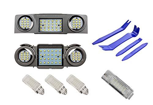 LED Innenraumbeleuchtung Lichtpaket Module für Golf 5 V