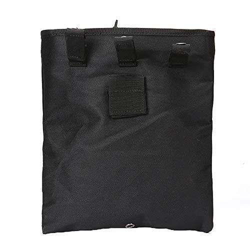 LIUYUNE,Taille Nylon wasserdichte Aufbewahrungstasche(color:Schwarz,size:Eine Größe) -