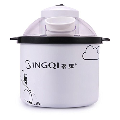 DZW Fabricante de helado 1.5 L Helado de frutas de gran capacidad hela