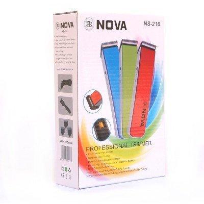 Tiru Traders Nova Ns-216 Professional Beard Hair Trimmer For Men (White)