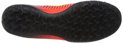 Nike Mercurialx Victory Vi Tf, Chaussures de Foot Homme Rouge (Total Crimson/Volt-Black-Pink Blast)