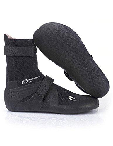Rip Curl 2018/19 Flashbomb 3mm Split Toe Neoprene Boot BLACK WBO7HF Footwear - UK 9 (Boots Split Wetsuit Toe)