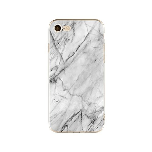 Coque iPhone 5 5s SE Housse étui-Case Transparent Liquid Crystal en TPU Silicone Clair,Protection Ultra Mince Premium,Coque Prime pour iPhone 5 5s SE-Marbre-style 14 19