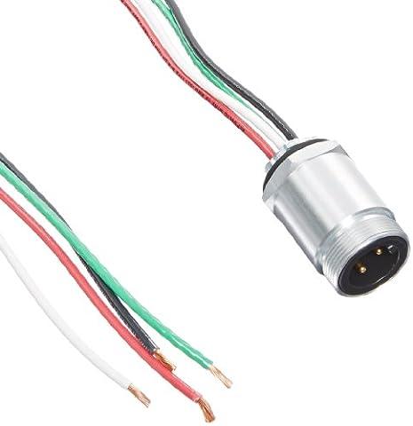 Brad CR4006A30M005 Power Trunk/Feeder Receptacle, Male, 4 Pole, 1/2