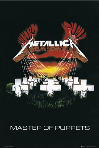 Metallica - Master Of Puppets (Poster)