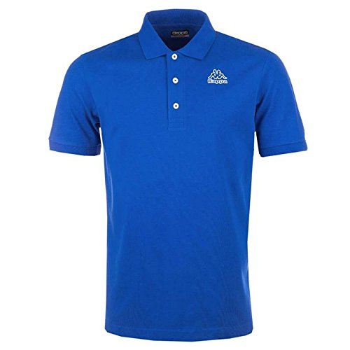 kappa-polo-da-uomo-omni-in-vari-colori-royal-blue-x-large