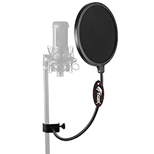 Tiger Music Pop Screen with Large Pop Filter for Mic
