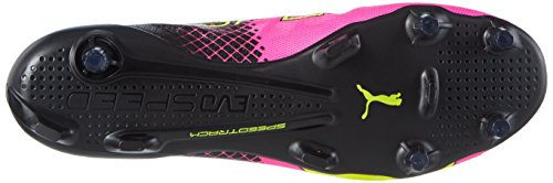 Puma Herren Evospeed Sl Ii Tricks Fg Fußballschuhe Pink (pink glo-safety yellow-black 01)
