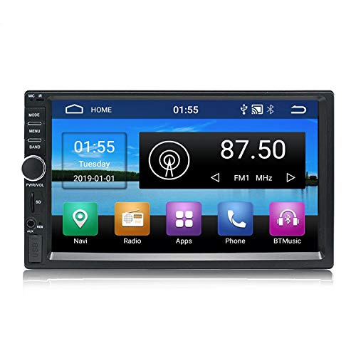 KX011 Android 8.1 Car Stereo GPS Navigation Quad Core Autoradio AM FM RDS 2 Din Touch screen da 7 pollici 1024 * 600 BT SWC1GB RAM 16 GB ROM Supporto DVR Wi-Fi