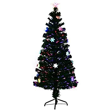 Leuchtender k nstlicher weihnachtsbaum aus glasfaser mit topf h he 90 cm - Amazon weihnachtsbaum ...