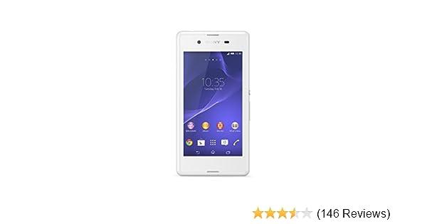 Sony Xperia E3 4G UK SIM-Free Smartphone - White