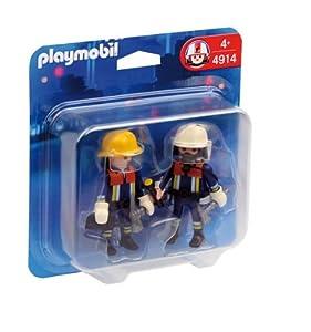 Bomberos Duo Pack Bomberos de Playmobil (626073)