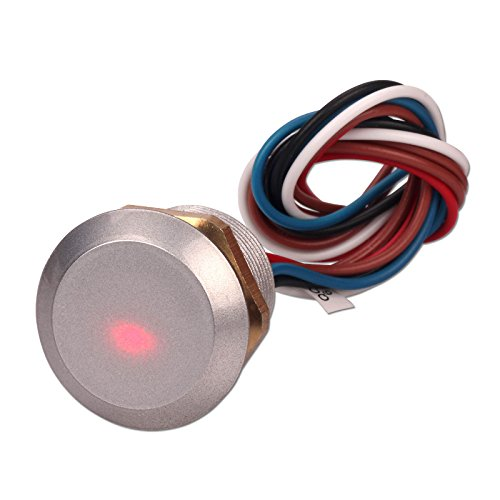 Lector de control de acceso ZOTER, minilector con micro oculto RFID,  tarjeta de identificación, 125 Khz Wiegand 26, resistente al agua