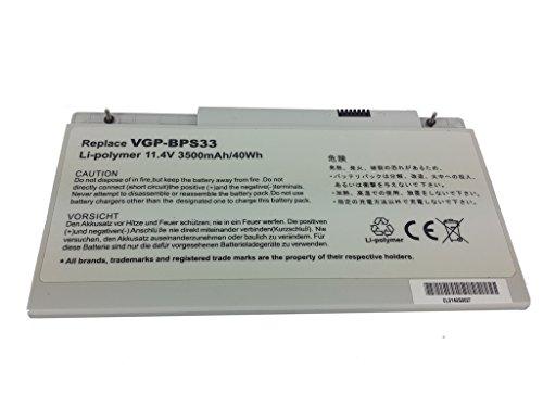 PowerSmart® 3500mAh 14.4V Batterie pour Sony VAIO SVT1411BPXS, VAIO SVT14123CNS, VAIO SVT14124CXS, VAIO SVT14125CXS, VAIO SVT14125PNS, VAIO SVT14126CNS, VAIO SVT14126CV, VAIO SVT14126CVS, VAIO SVT14126CW, VAIO SVT14126CXS, VAIO SVT14127CG, VAIO SVT14127CGS