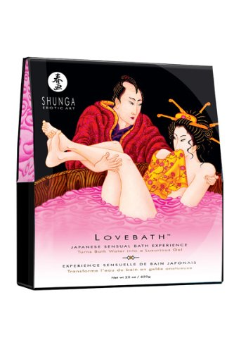 Shunga Lovebath Badesalz, Drachenfrucht