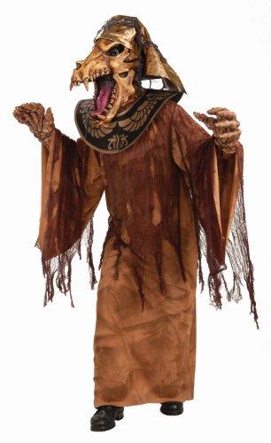 Ägyptischer Mumien Tierschädel Krieger Halloween Kostüm Fasching (Erwachsene Für Kostüme Mumie Krieger)