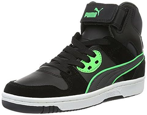 Puma Unisex-Kinder Rebound Street SD Jr Sneakers, Schwarz (Puma Black-Asphalt 14), 36 EU