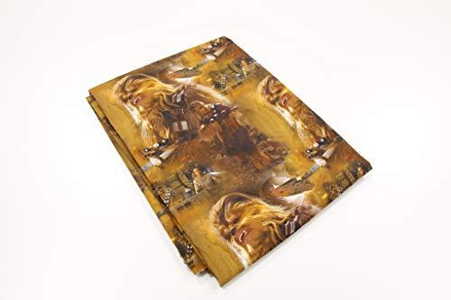 Pinidi Coupe Tissu 100 x 140 cm certifié Ökotex 100 Coton Chewbacca Marron