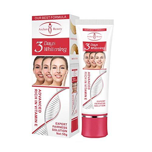 Crema aclaradora de la piel